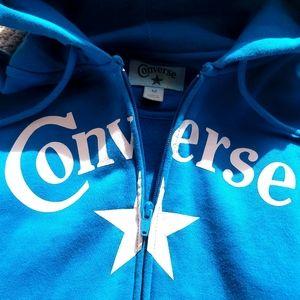 Converse hoodie color teal
